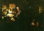 David Ryckaert en anatom i sin studio oil painting